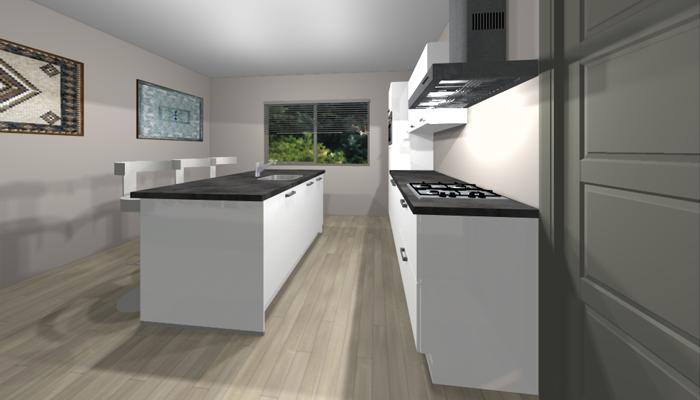 Complete parallel keuken voor de laagste prijs - Centrum eiland keuken prijs ...